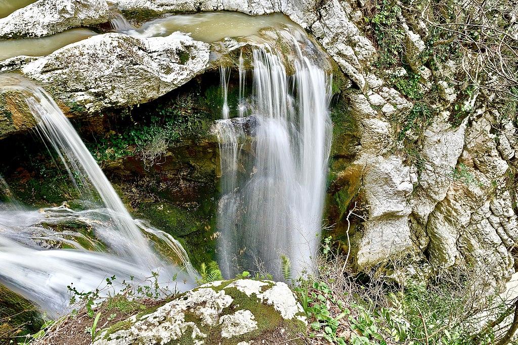 Достопримечательности Сочи: Первый (Нижний) Агурский водопад