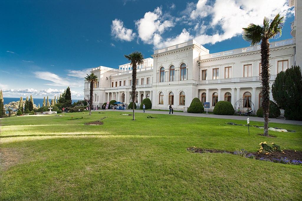 достопримечательности крыма ливадия дворец и парк