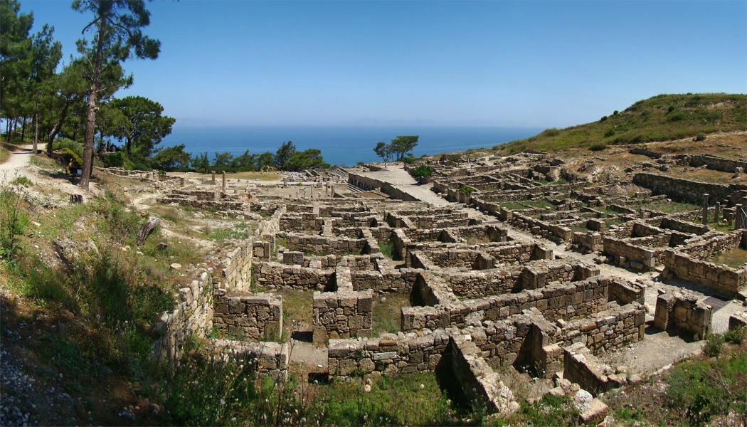острова Греции с прямым рейсами из России: Родос, Камирос