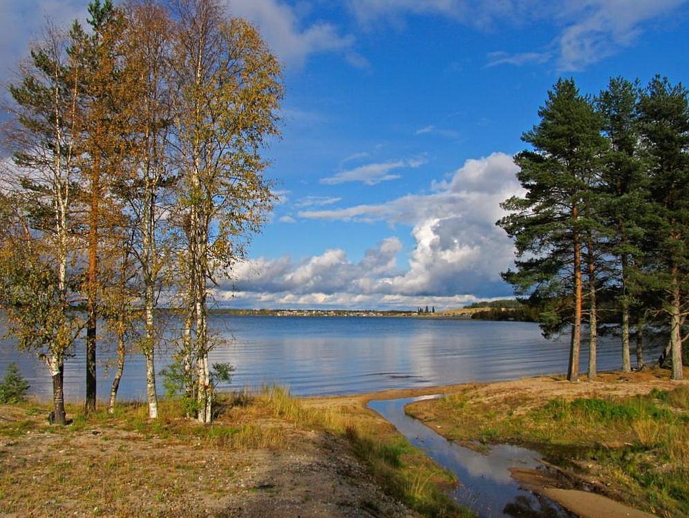 Озеро Сямозеро, Карелия
