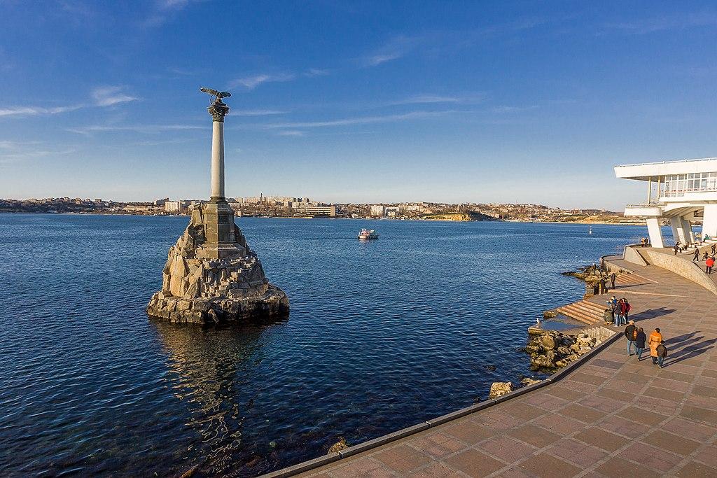 Достопримечательности Севастополя, Крым: Памятник затопленным кораблям