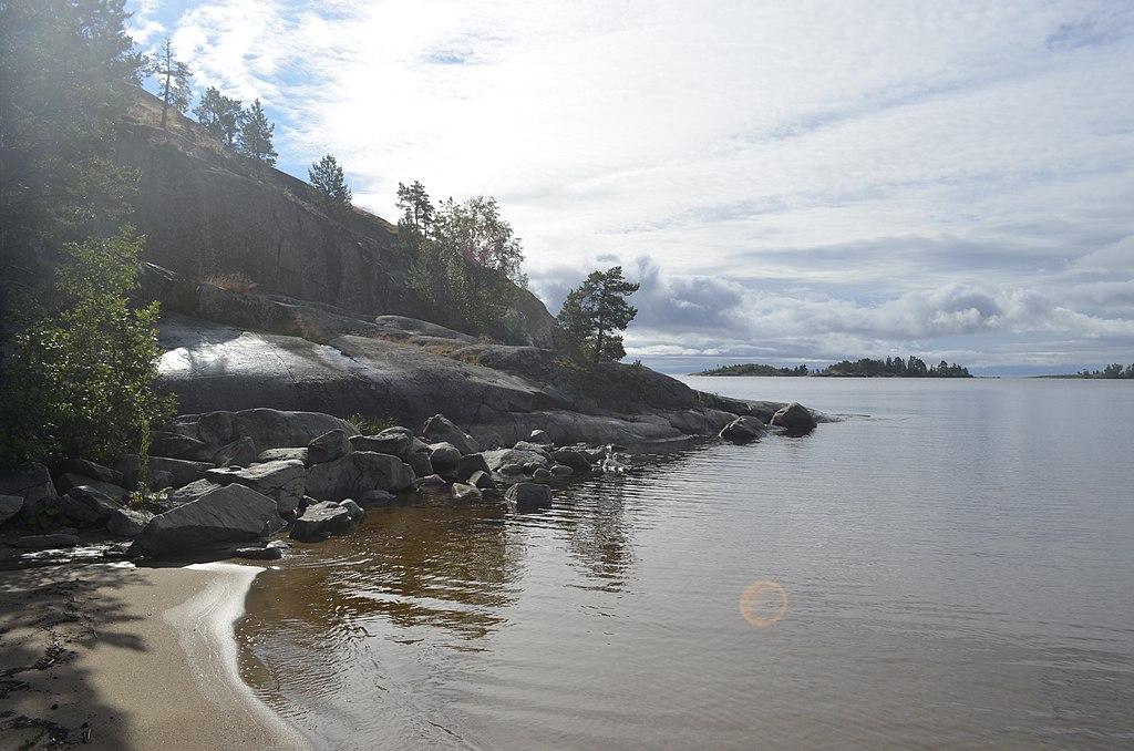 Лахденпохский район, Ладожское озеро, республика Карелия