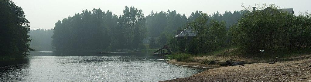 Олонецкий район, Ладожское озеро, республика Карелия