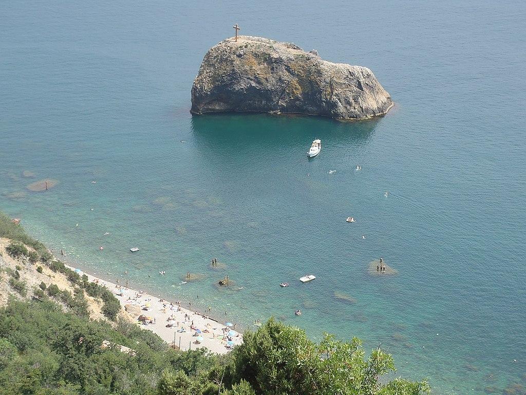 Пляжи Севастополя: Яшмовый пляж, Фиолент, Крым