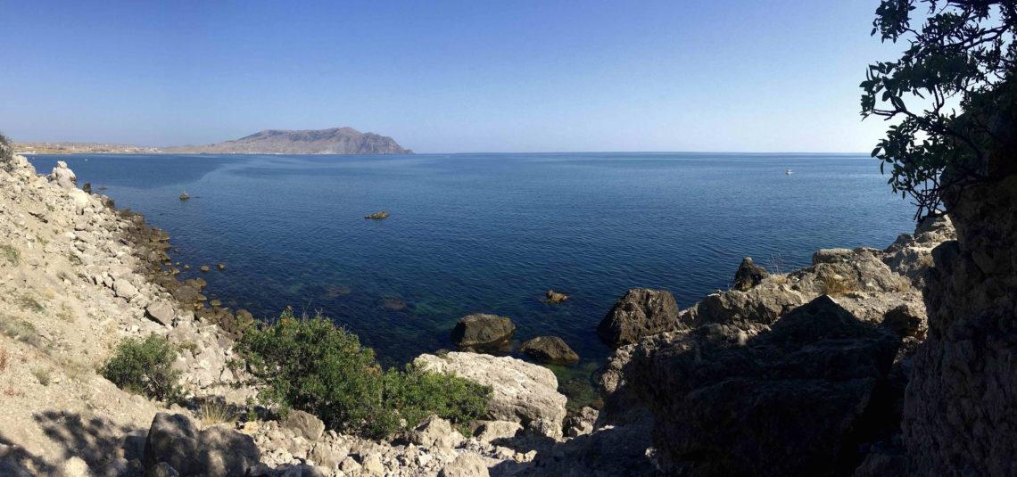 Гора и мыс Алчак, Судак, Крым: прогулка по тропе