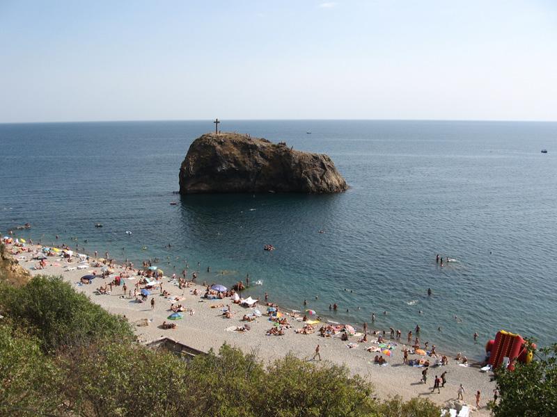 Мыс Фиолент, Крым: Яшмовый пляж