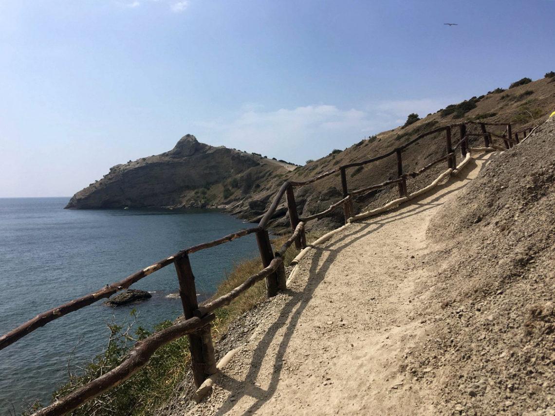 Тропа Голицына, Новый Свет, Крым: как добраться и что посмотреть на маршруте
